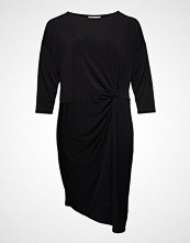 Only Carmakoma Caraida 3/4 Blk Dress Knelang Kjole Svart ONLY CARMAKOMA
