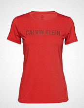 Calvin Klein Performance Short Sleeve Tee T-shirts & Tops Short-sleeved Rød CALVIN KLEIN PERFORMANCE