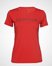 Calvin Klein Performance Short Sleeve Tee T-shirts & Tops Short-sleeved Rød CALVIN KLEIN PERFORMANCE