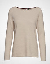 Esprit Casual Sweaters T-shirts & Tops Long-sleeved Beige ESPRIT CASUAL