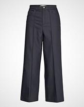 Mos Mosh Como Night Pant Sustainable Vide Bukser Blå MOS MOSH