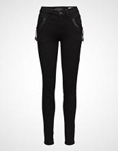 Pulz Jeans Carmen Highwaist Skinny Skinny Jeans Svart PULZ JEANS