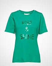 InWear Rayme T-Shirt T-shirts & Tops Short-sleeved Grønn INWEAR