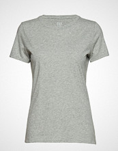 GAP Vintage Wash Crewneck T-Shirt T-shirts & Tops Short-sleeved Grå GAP