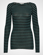 Gai+Lisva Amalie Medium Stripe T-shirts & Tops Long-sleeved Grønn GAI+LISVA