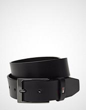 Tommy Hilfiger Layton Leather Belt Belte Svart TOMMY HILFIGER