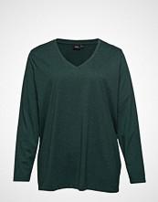 Zizzi MchloÉ, L/S, T-Shirt T-shirts & Tops Long-sleeved Grønn ZIZZI