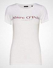 Marc O'Polo T-Shirt Short Sleeve T-shirts & Tops Short-sleeved Hvit MARC O'POLO