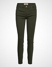 Mos Mosh Sumner Colour Jeans Stramme Bukser Stoffbukser Grønn MOS MOSH