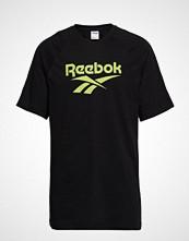 Reebok Classics Cl V P Tee Unisex T-shirts & Tops Short-sleeved Svart REEBOK CLASSICS