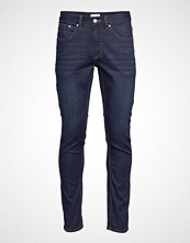 Lindbergh 5 Pocket Stretch Astra Blue Slim Jeans Blå LINDBERGH
