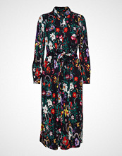 Soft Rebels Moon Long Dress Knelang Kjole Blå SOFT REBELS