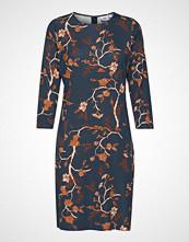 Saint Tropez U6543, Jersey Dress On Knee Knelang Kjole Blå SAINT TROPEZ