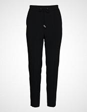 Filippa K Fiona Drapey Trousers Bukser Med Rette Ben Svart FILIPPA K