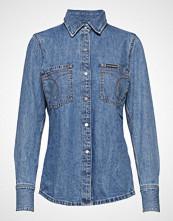 Calvin Klein Long Sleeve Utility Langermet Skjorte Blå CALVIN KLEIN JEANS