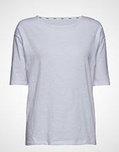 Stig P Louisa Organic T-shirts & Tops Short-sleeved Hvit STIG P