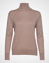 Filippa K Silk Mix Roller Neck Sweater Høyhalset Pologenser Beige FILIPPA K