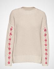 Odd Molly Oh Wow Sweater Strikket Genser Creme ODD MOLLY