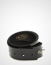 Notes du Nord Jamilla Leather Belt Belte Svart NOTES DU NORD