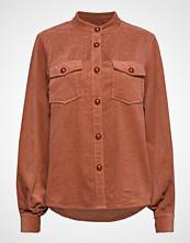Coster Copenhagen Jacket In Corduroy Langermet Skjorte Brun COSTER COPENHAGEN