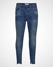 Only Carmakoma Carcarma Reg Raw Skinny Jeans Skinny Jeans Blå ONLY CARMAKOMA