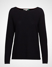 Esprit Casual Sweaters T-shirts & Tops Long-sleeved Svart ESPRIT CASUAL