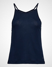 Casall Liquid Tencel Strap Tank T-shirts & Tops Sleeveless Blå CASALL