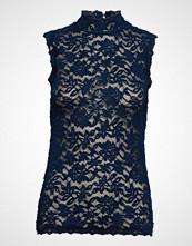 Rosemunde Top T-shirts & Tops Sleeveless Blå ROSEMUNDE
