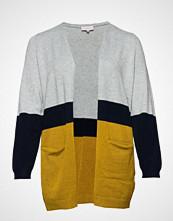 Only Carmakoma Carst L/S Long Cardigan Ess Strikkegenser Cardigan Multi/mønstret ONLY CARMAKOMA