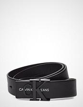 Calvin Klein J 3cm Mono Leather B Belte Svart CALVIN KLEIN