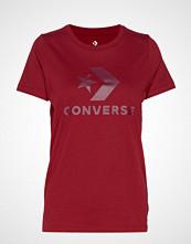 Converse Converse Star Chevron Tee T-shirts & Tops Short-sleeved Rød CONVERSE