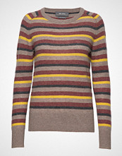 Mos Mosh Marbel Stripe Cashmere Strikket Genser Multi/mønstret MOS MOSH