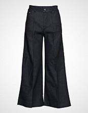 Karl Lagerfeld Tailored Denim Culottes Vide Bukser Blå KARL LAGERFELD