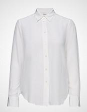 Filippa K Classic Silk Shirt Langermet Skjorte Hvit FILIPPA K