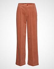 Coster Copenhagen Pants In Corduroy W. Elastic Waistb Vide Bukser Oransje COSTER COPENHAGEN