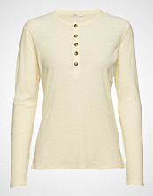 Levete Room Lr-Any T-shirts & Tops Long-sleeved Creme LEVETE ROOM