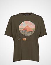 Envii Enkulla Ss Tee Olive 5310 T-shirts & Tops Short-sleeved Grønn ENVII