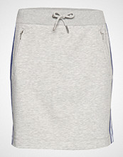 Calvin Klein Monogram Tape Skirt, Kort Skjørt Grå CALVIN KLEIN JEANS