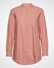 Moshi Moshi Mind Always Shirt Crisp Langermet Skjorte Rosa MOSHI MOSHI MIND