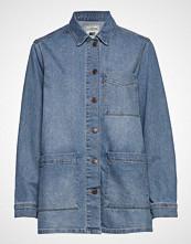 Lexington Clothing Kathy Denim Worker Shirt Langermet Skjorte Blå LEXINGTON CLOTHING
