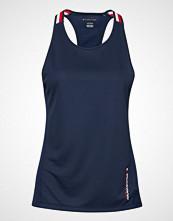 Tommy Sport Tank Top Global Stri T-shirts & Tops Sleeveless Blå TOMMY SPORT