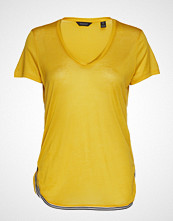 Scotch & Soda Sporty Tee T-shirts & Tops Short-sleeved Gul SCOTCH & SODA