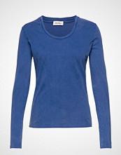 American Vintage Fuzycity T-shirts & Tops Long-sleeved Blå AMERICAN VINTAGE