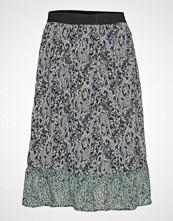Saint Tropez U8030, Woven Skirt Bellow Knee Knelangt Skjørt Multi/mønstret SAINT TROPEZ