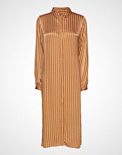 Soft Rebels Sikka Long Shirt Knelang Kjole Gul SOFT REBELS