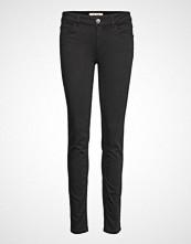 Mos Mosh Sumner Core Long Jeans Skinny Jeans Svart MOS MOSH
