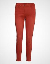 Edc by Esprit Pants Woven Skinny Jeans Oransje EDC BY ESPRIT