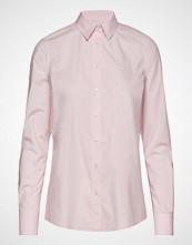 Gant Solid Stretch Broadcloth Shirt Langermet Skjorte Rosa GANT