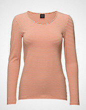 Nanso Ladies Shirt, Liitu T-shirts & Tops Long-sleeved Oransje NANSO