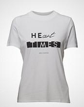 Boss Casual Wear Tecaviar T-shirts & Tops Short-sleeved Hvit Boss Casual Wear